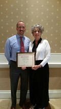 Schaller Recognized as OATFACS Teacher of the Year