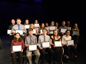 Students Inducted into the National Technical Honor Society