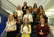 Students Inducted into National Technical Honor Society