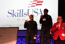 Students Earn Medals at Ohio SkillsUSA Northwest Regional Contest