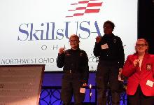 Students Earn Medals at Ohio SkillsUSA Northwest Regional Contest