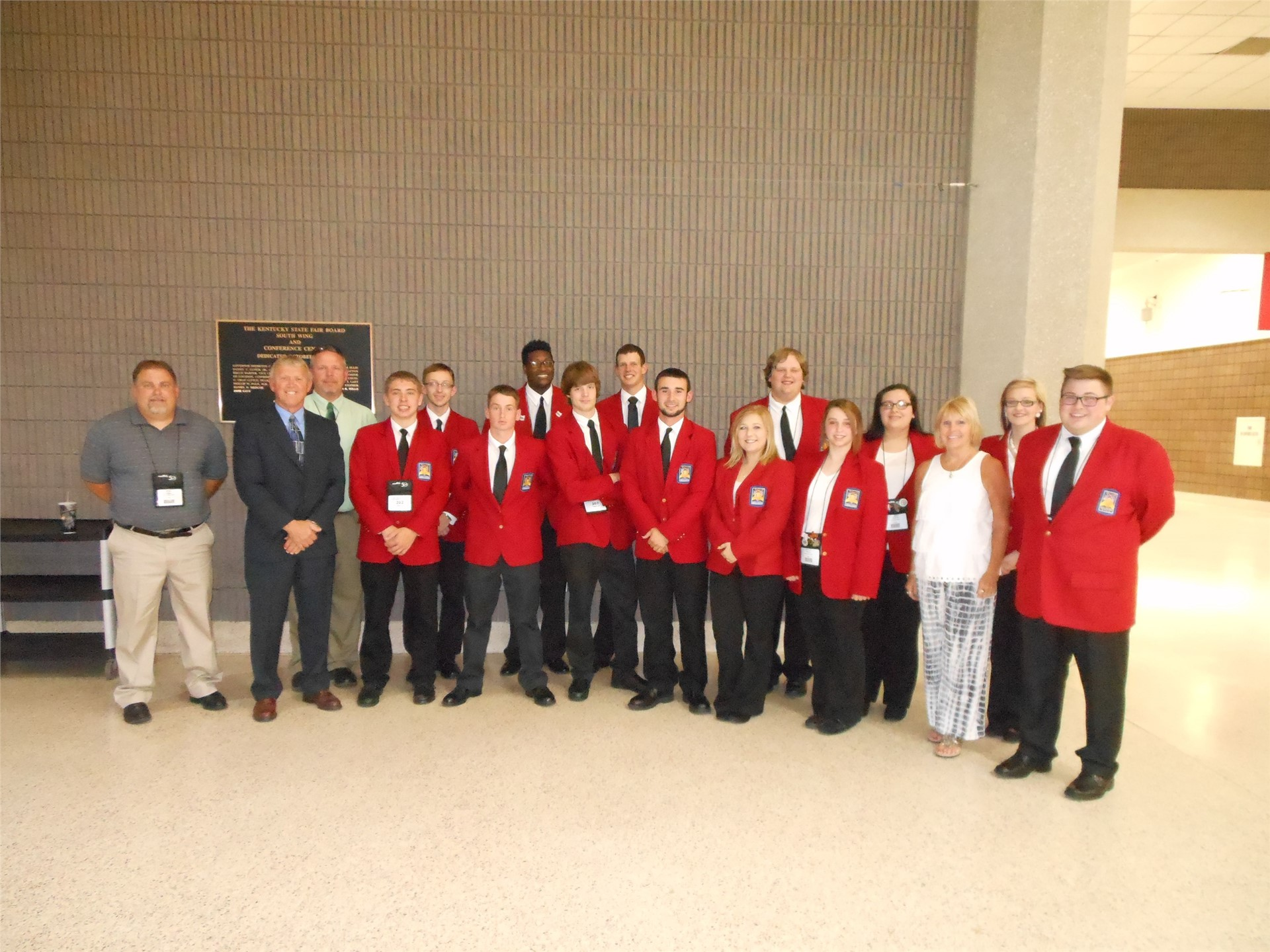 Penta Competitors and Staff at the National SkillsUSA Contest